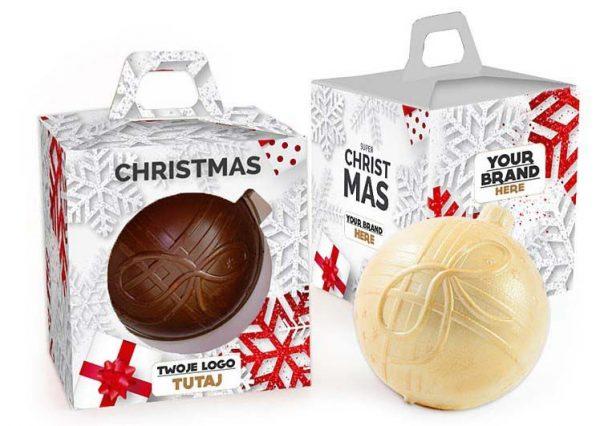 bola chocolate arbol navidad