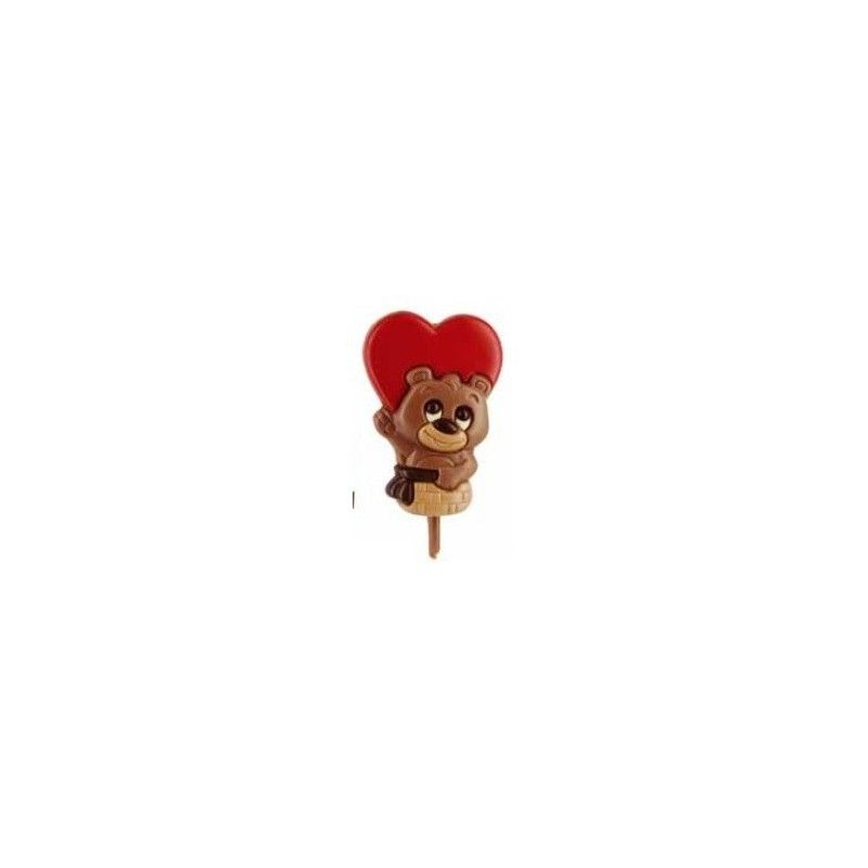 piruleta chocolate osito amoroso