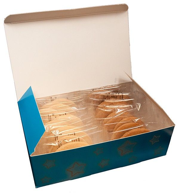 Galletas en caja personalizada