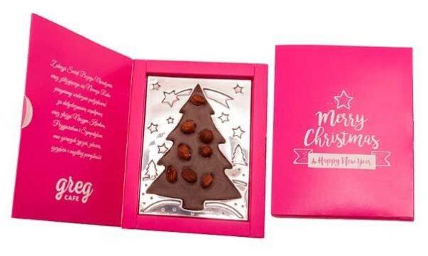 arbol Navidad en caja personalizada