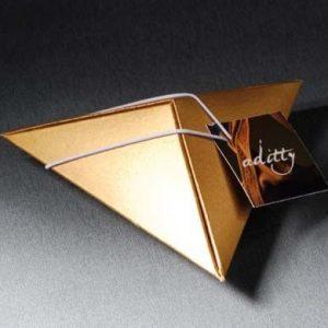 caja piramide con bombones