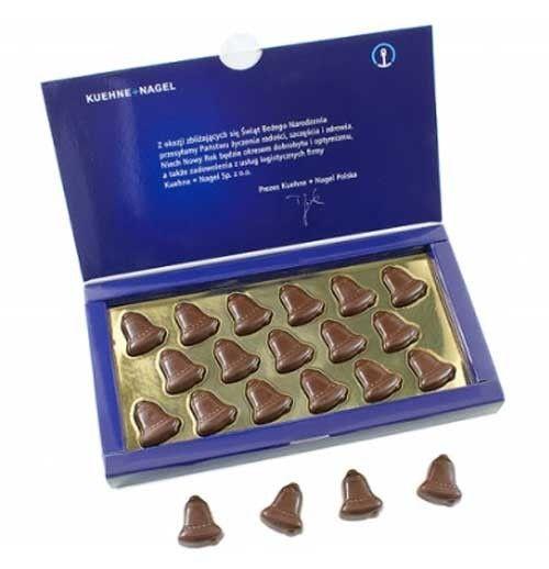 campanas de chocolate