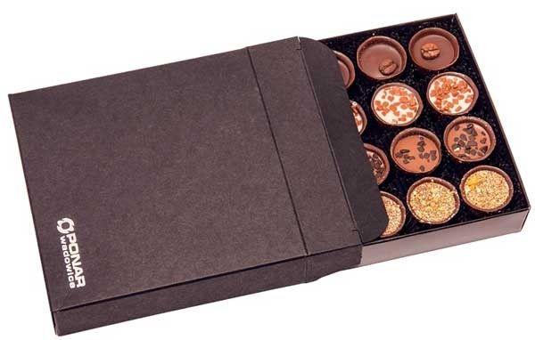 cajas con bombones artesanos