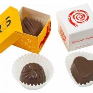 bombon chocolate en caja individual