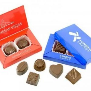 bombones chocolate caja personalizada