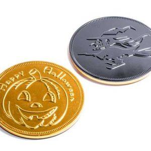 Moneda medallon chocolate Halloween