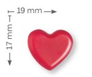 corazon chocolate rojo