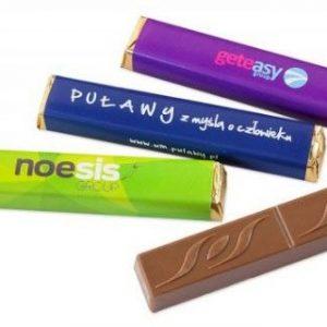 Chocolatina con vitola personalizada