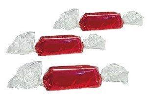 Bombon de chocolate Leonardo rojo