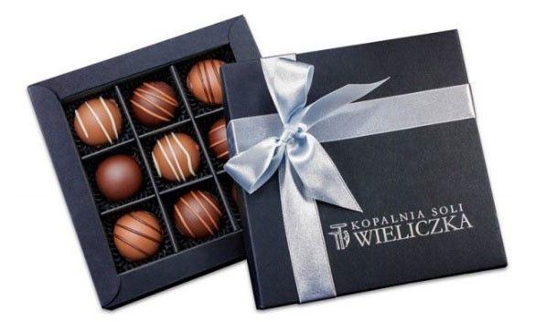 Trufas de chocolate belga