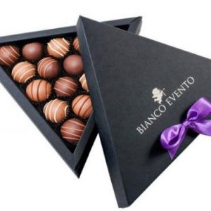 trufas chocolate belga