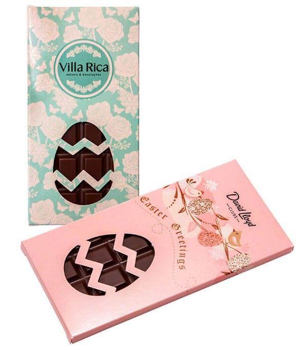 tableta de chocolate de Pascua