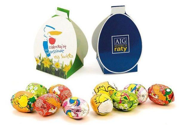 Huevos de chocolate de Pascua