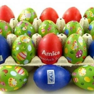 Huevos de chocolate envueltos