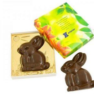 Conejo de chocolate de Pascua
