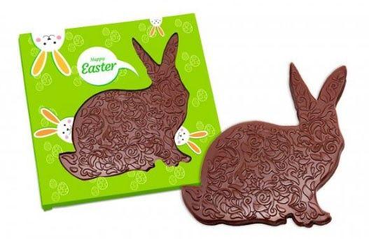 Conejo de Pascua de chocolate