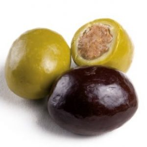 aceituna de chocolate
