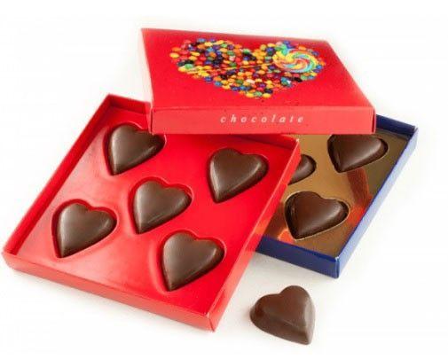 originales bombones personalizados para San Valentín