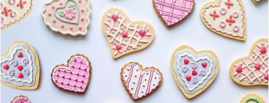 originales galletas San Valentín