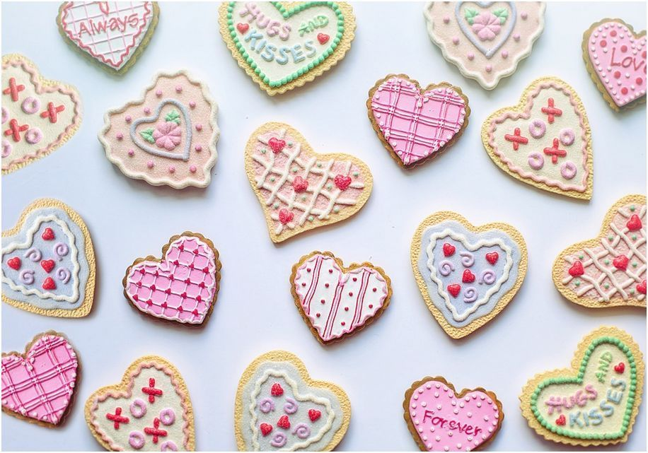 galletas San Valentín al por mayor