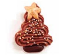 abeto navidad de chocolate